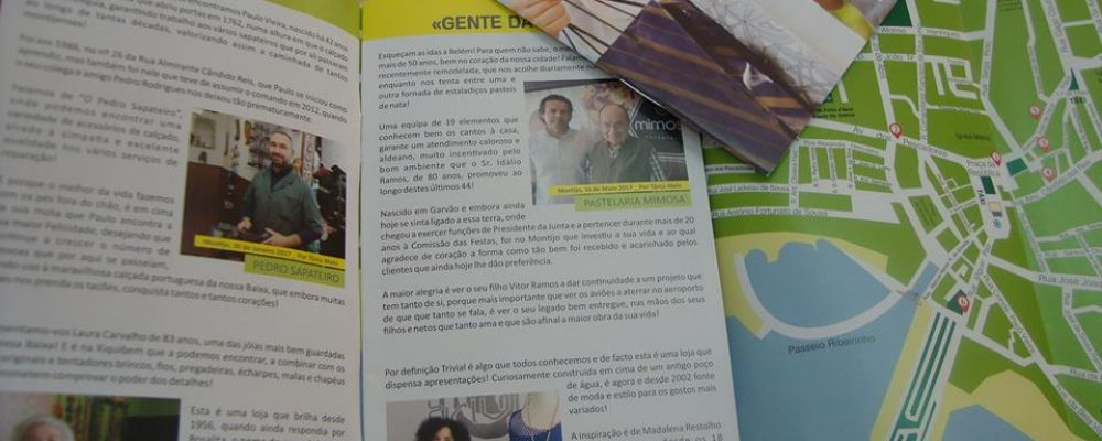 Lançamento da 1ª Revista da Baixa do Montijo Convida!