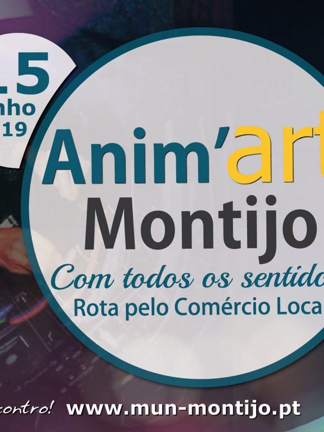 Anima'Art Montijo 2019 – Com Todos os Sentidos!