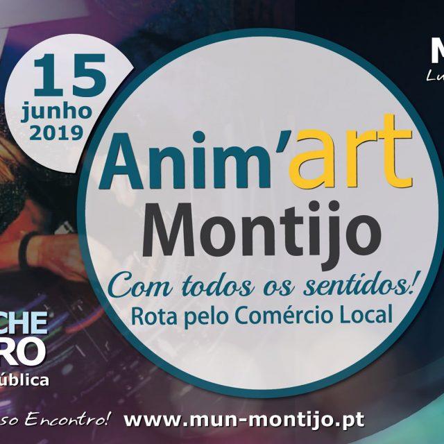 Anim'Art Montijo 2019 – Com Todos os Sentidos!