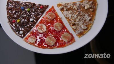 As nossas Pizzas Doces!